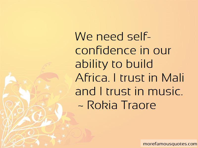Trust Is Build Quotes