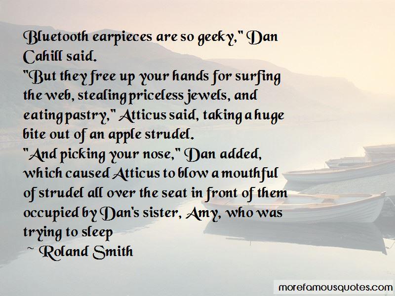 Apple Strudel Quotes