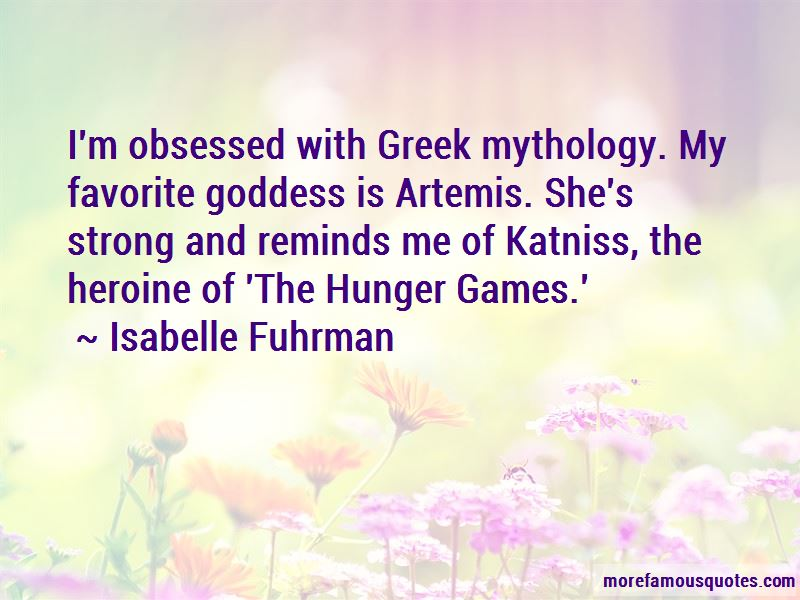 Artemis Favorite Quotes