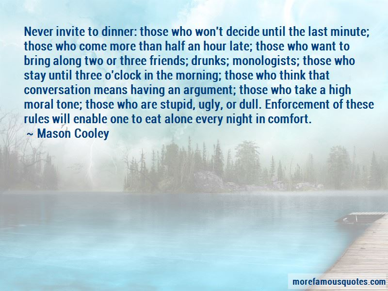 Dinner And Friends Quotes