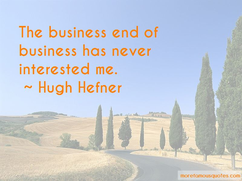 End Of Business Quotes