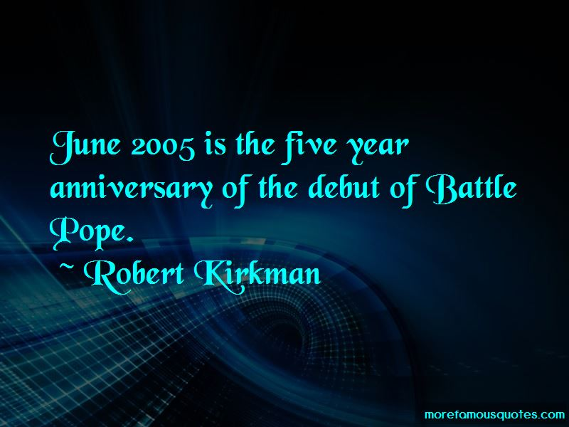 Five Year Anniversary Quotes