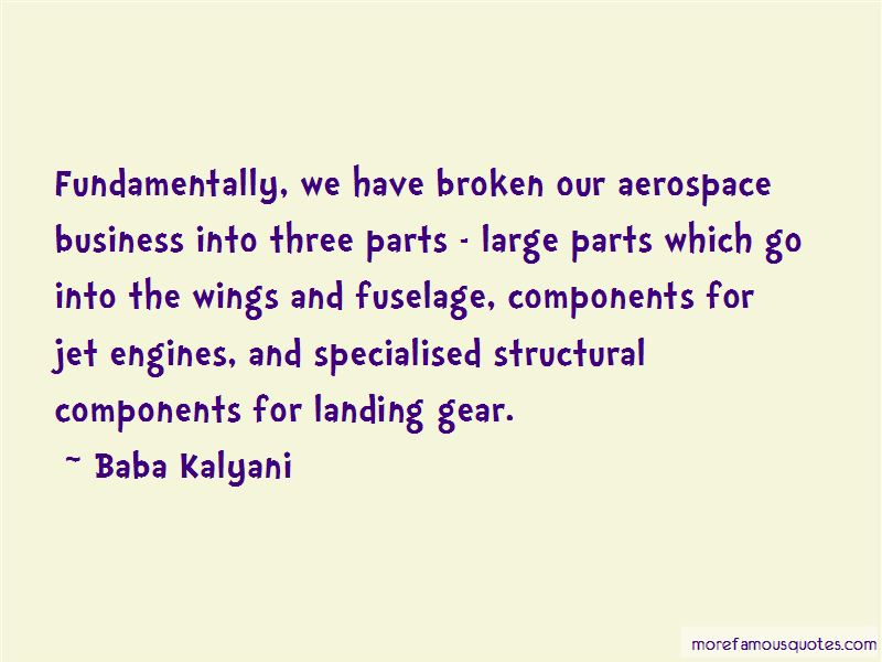 Landing Gear Quotes