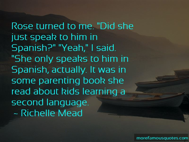 Learning A Second Language Quotes