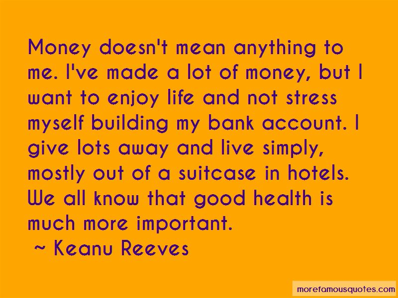 Money Important In Our Life Quotes Pictures 2