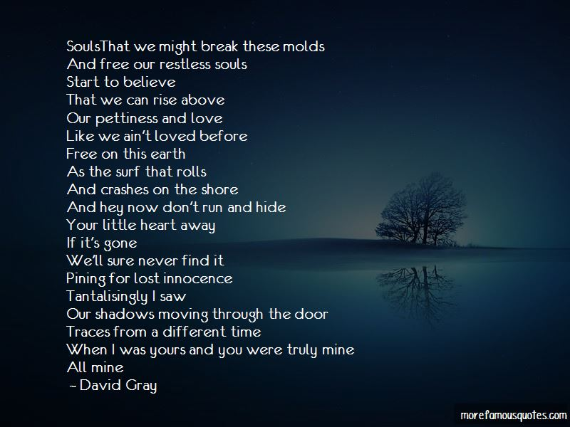 Quotes About A Lost Love And Moving On