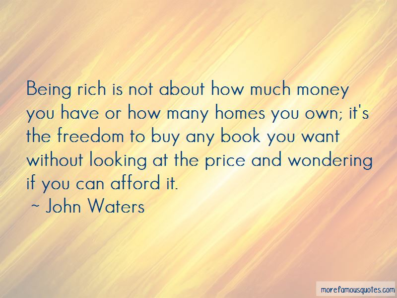 Being Rich Without Money Quotes Pictures 2