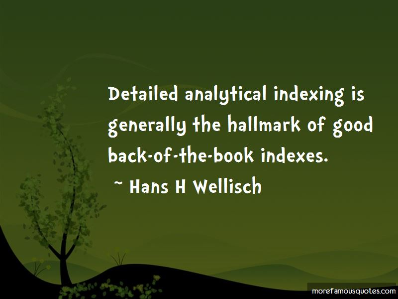 Quotes About Book Indexes