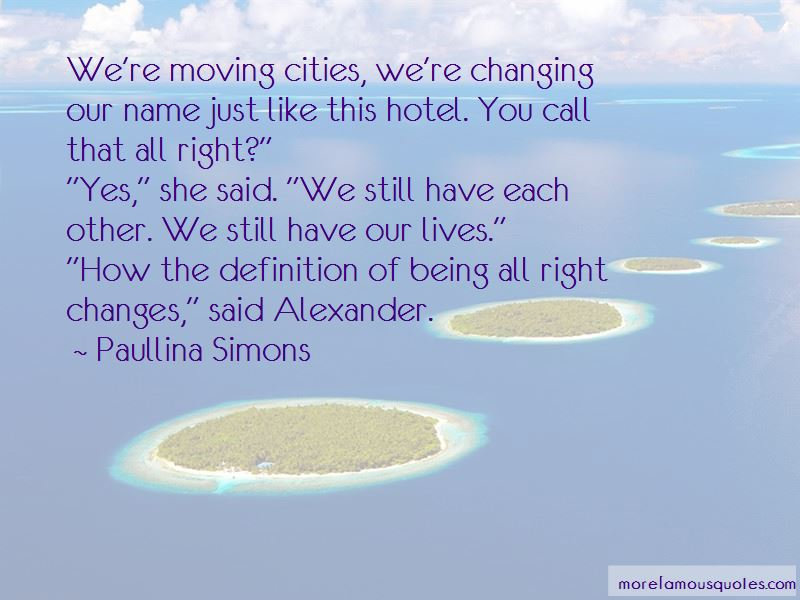 Cities Changing Quotes Pictures 2