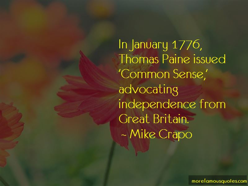 Common Sense By Thomas Paine Quotes Pictures 3