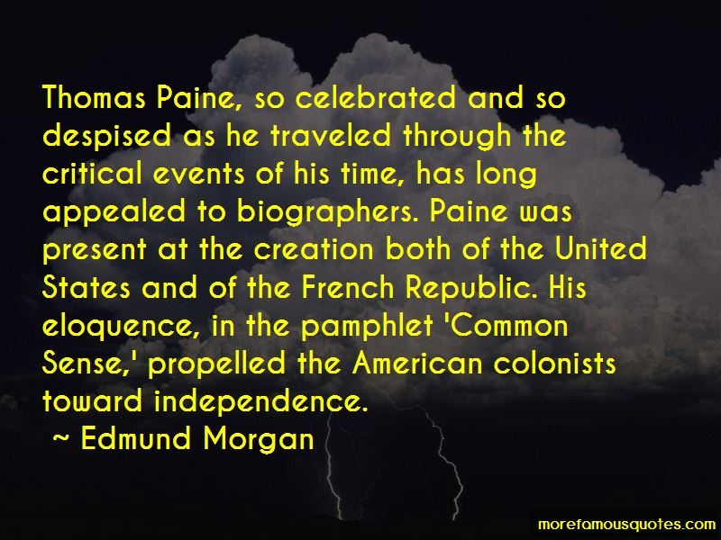 Common Sense By Thomas Paine Quotes Pictures 4