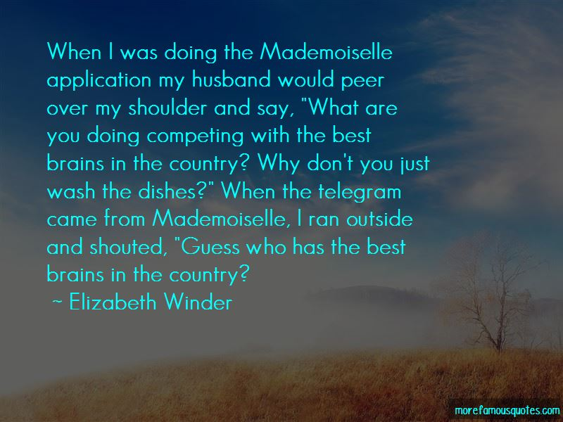 Quotes About Competing With The Best