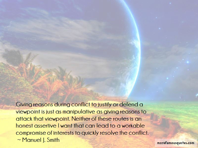 Quotes About Conflict And Compromise