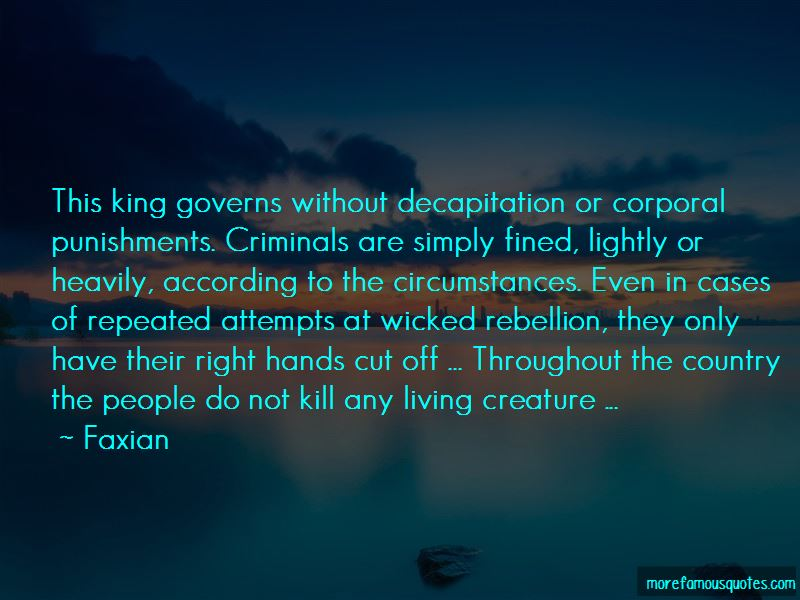 Quotes About Corporal Punishments