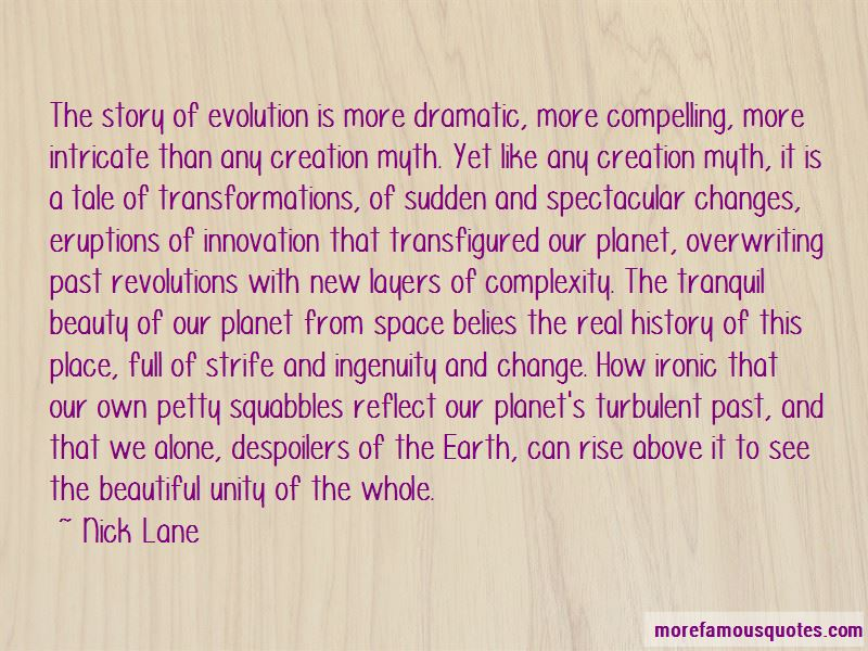 Quotes About Creation Of Earth