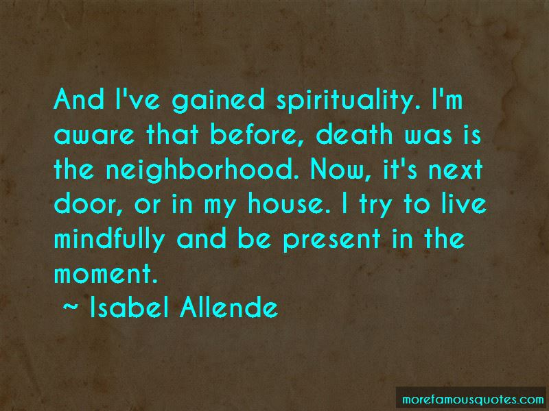 Quotes About Death And Spirituality