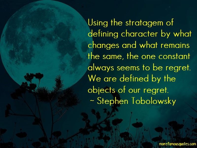 Defining Character Quotes Pictures 2