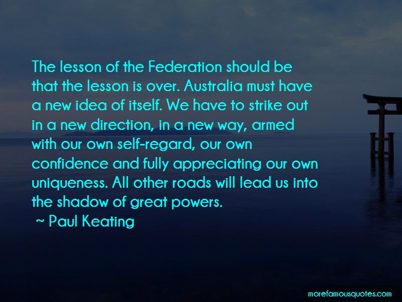 Quotes About Federation In Australia