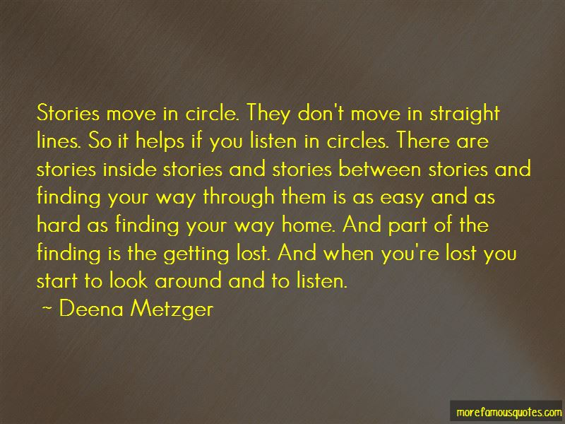Quotes About Finding Your Way Home