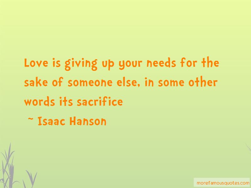 Quotes About Giving Your Love To Someone Else