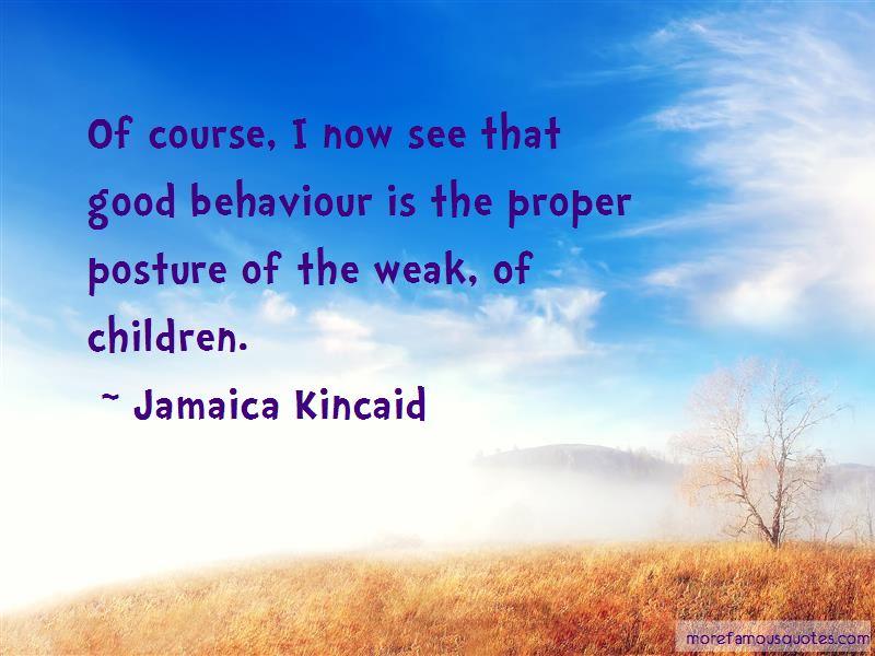 Good Behaviour Quotes Pictures 4