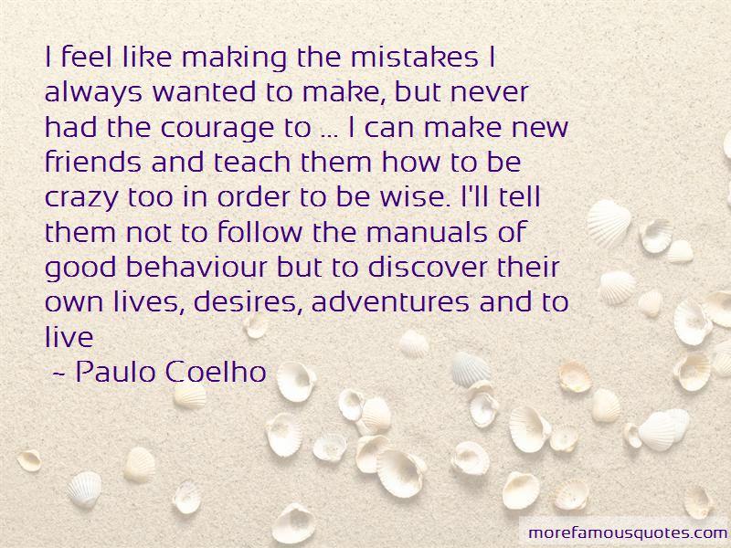 Quotes About Good Behaviour