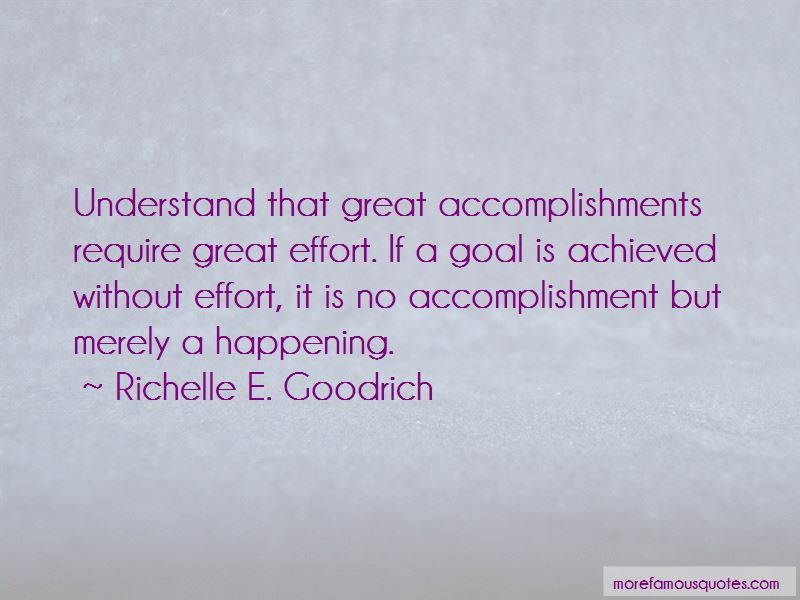 Quotes About Great Accomplishments
