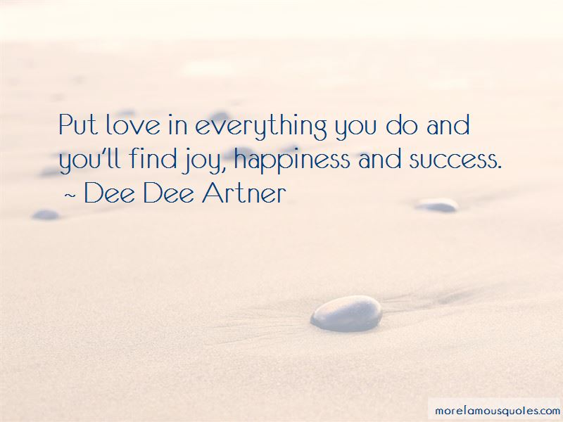 Quotes About Happiness And Success