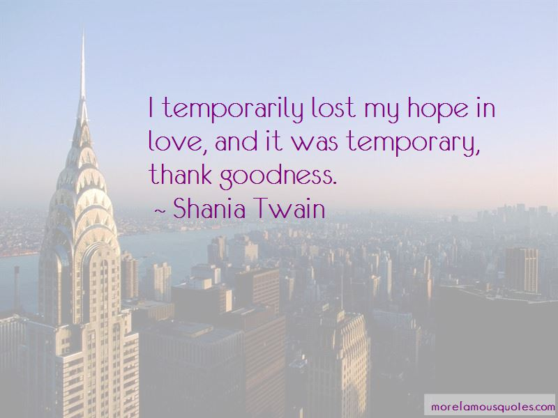 Quotes About Hope In Love