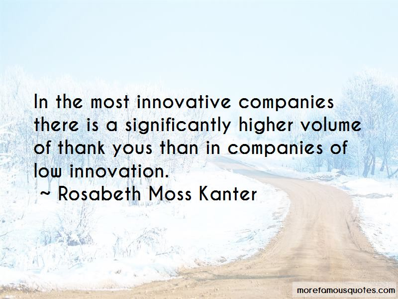 Quotes About Innovative Companies