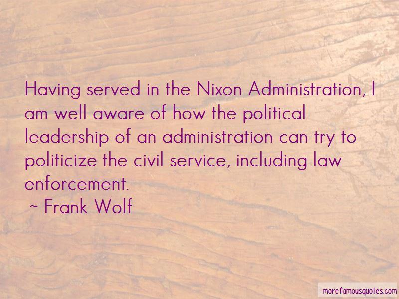 Quotes About Law Enforcement Leadership