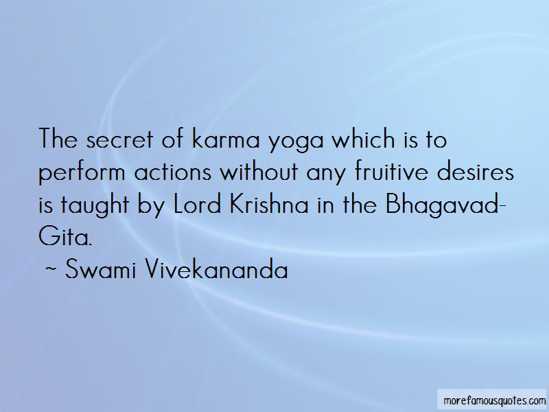Quotes About Lord Krishna: top 21 Lord Krishna quotes from