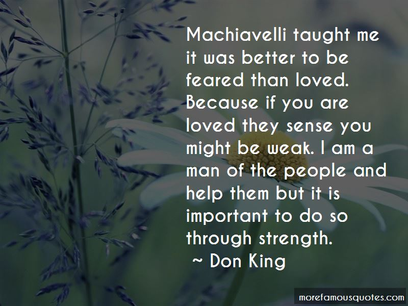 Quotes About Machiavelli