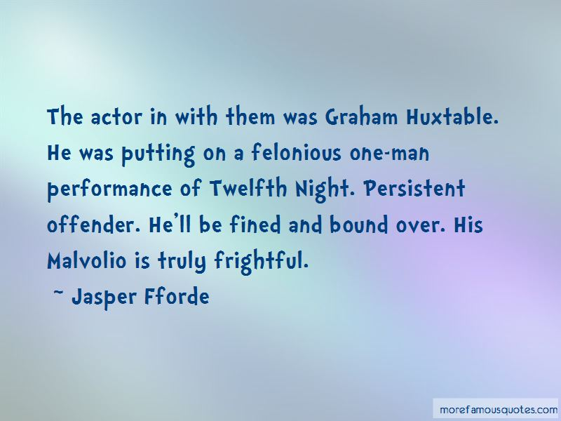 Quotes About Malvolio