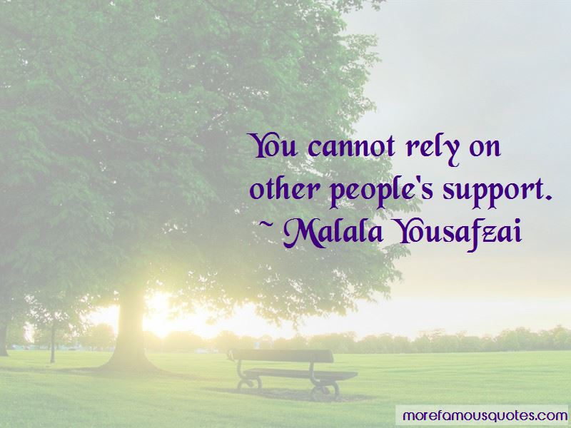 People's Support Quotes Pictures 2