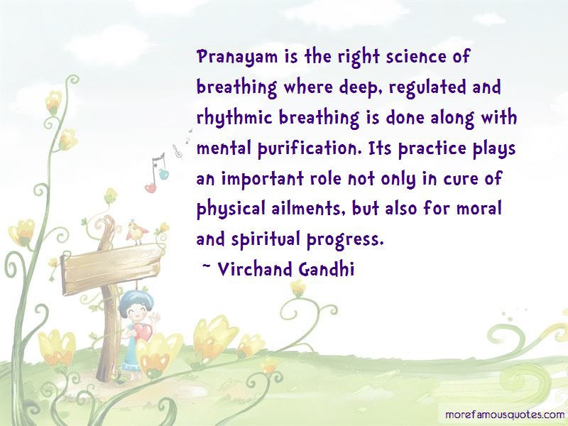 Quotes About Pranayam