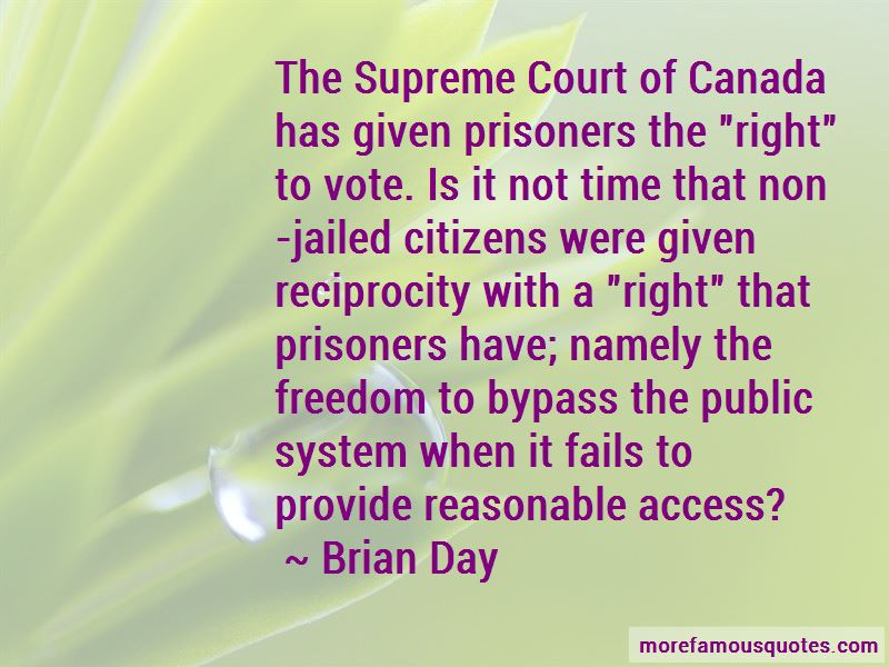 Quotes About Prisoners Right To Vote