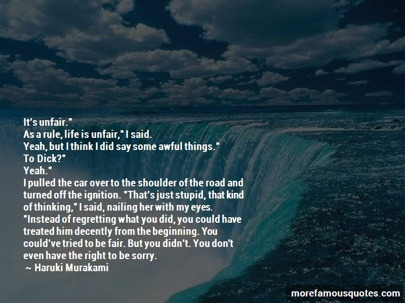 Quotes About Regretting What You Say