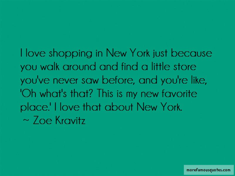 Quotes About Shopping In New York