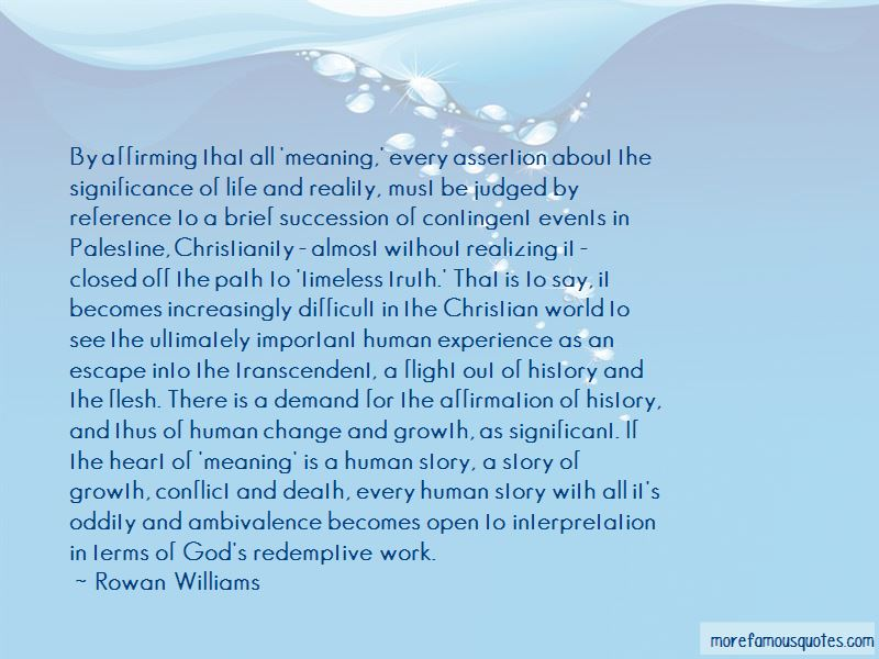 Quotes About Significant Life Events
