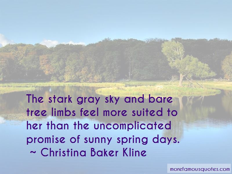 Quotes About Sunny Spring
