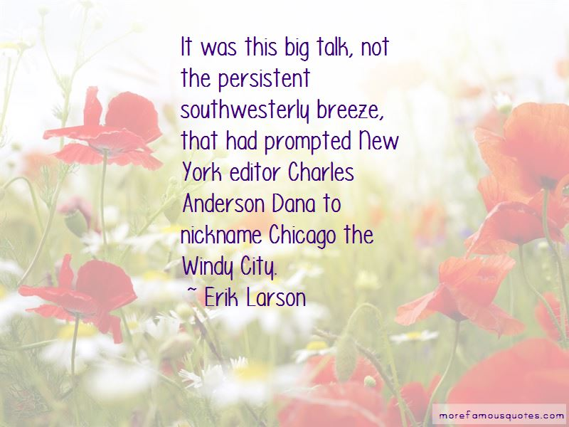 Quotes About The Windy City