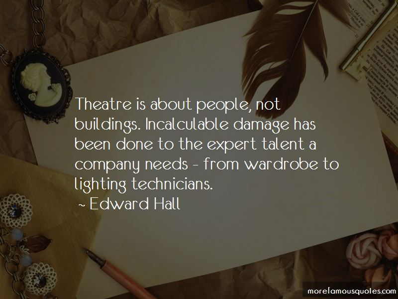 Quotes About Theatre Technicians
