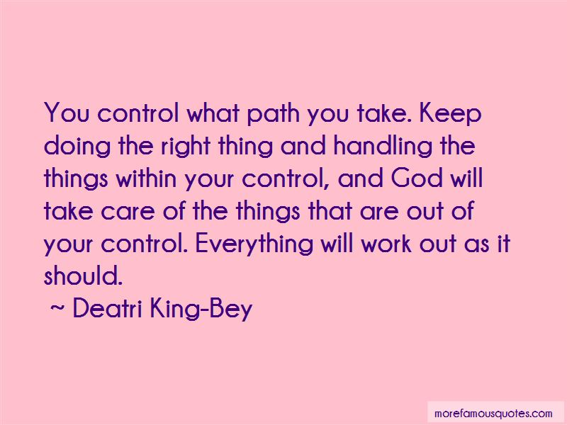 Quotes About Things That Are Out Of Your Control
