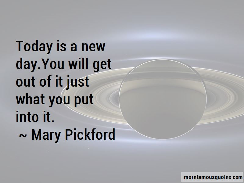 Quotes About Today Is A New Day