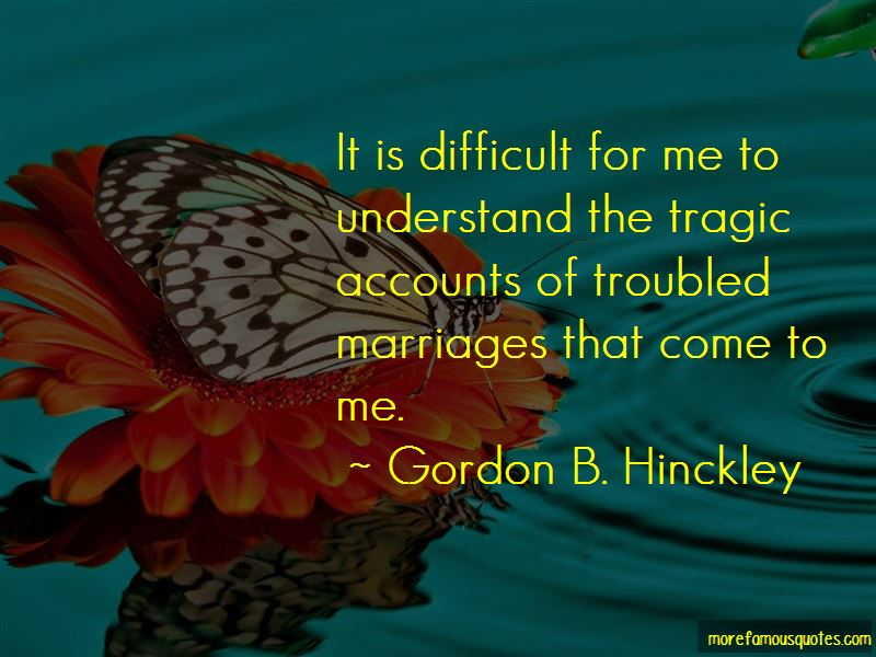Quotes About Troubled Marriages