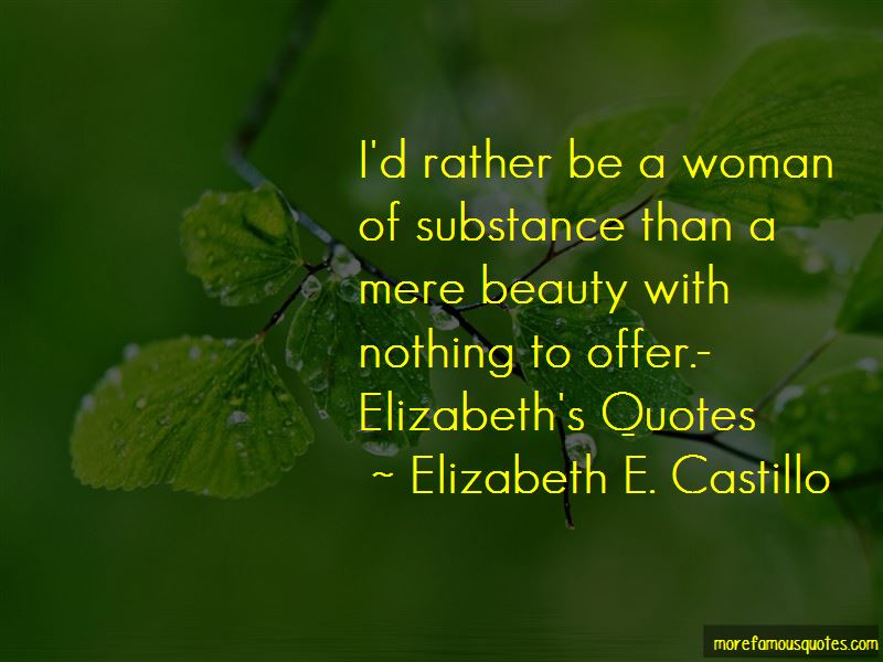 Quotes About Woman Of Substance