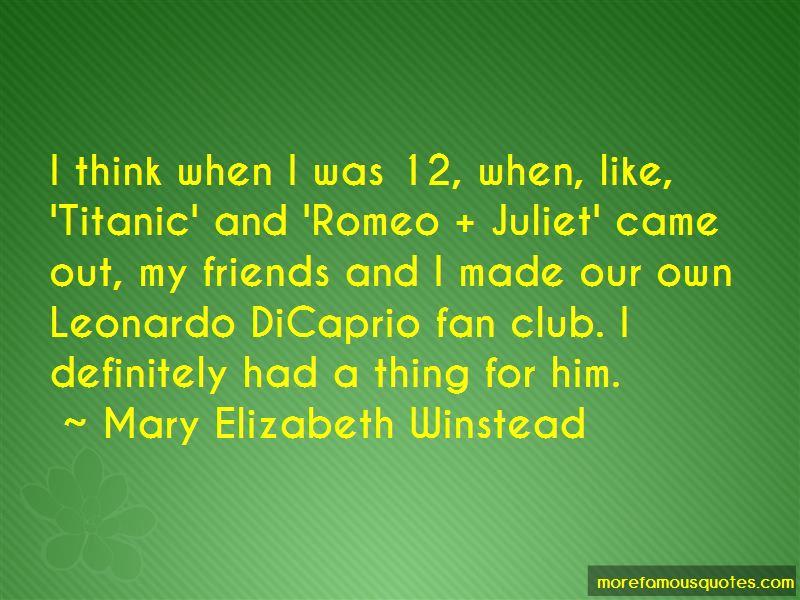 Romeo Juliet Leonardo Quotes Pictures 2