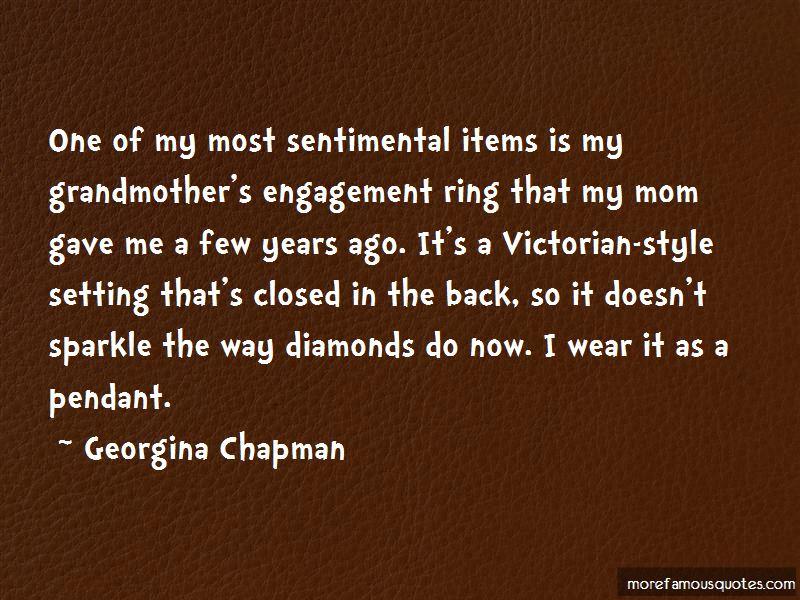 Sentimental Items Quotes