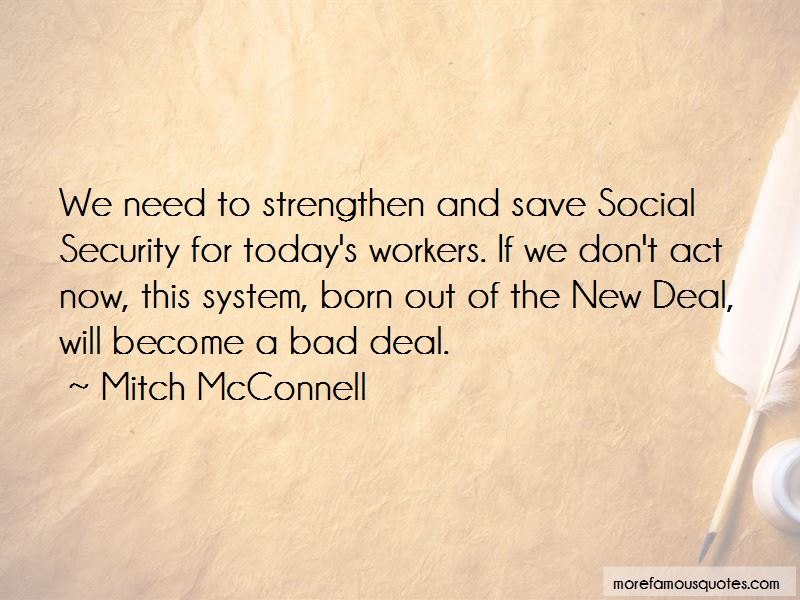 Social Security New Deal Quotes